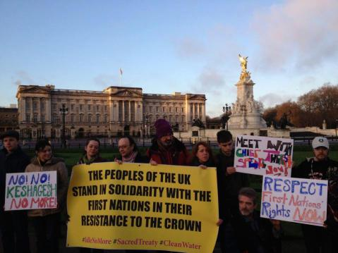 #IdleNoMore London, UK Dec. 21, 2012