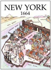 Manhate New Amsterdam 1664 Wall Street Slave Trade