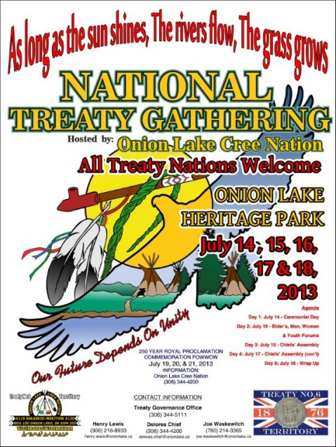 National Treaty Gathering posters